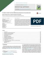 Review Propiedades Medicinales de Aceites Esenciales