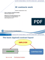How do FIDIC contracts work