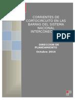 Niveles de Cortocircuito e Impedancias Equivalentes en Las Barras Del Sni Octubre2014-Revfinal