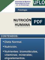 Fisiologia - Nutrición