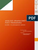 Análisis Granulométrico Post Tronadura