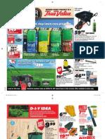 Spring Sales Flyer