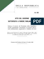 132 Schema Di Decreto Del Presidente Della Repubblica - Riforma Licei
