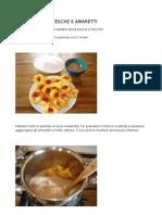 Confettura Di Pesche e Amaretti