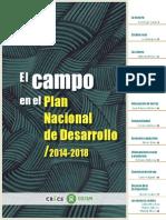 El Campo en el Plan Nacional de Desarrollo 2014  - 2018