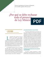 Analisis Ley Minera 1