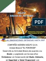 Milpo Hacia El Futuro - CIA. Minera Milpo