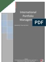 International Portfolio Management