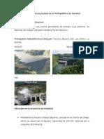 Hidroeléctricas Presentes en La República de Panamá