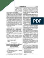 Procedimiento para establecer un ARP para importación de especies vegetales al Perú
