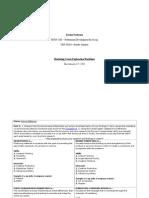 Marketing Career Exploration Worksheet - KP