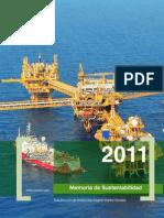 Memoria de sustentabilidad 2011