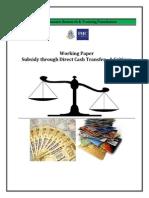 5. Subsidy Through Direct Cash Transfer- A Critique