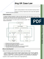 to Print Out Citation and Hierarchy of Law Reports
