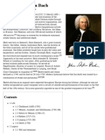 Johann Sebastian Bach - Wikipedia, The Free Encyclopedia