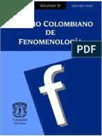 Anuario Colombiano de Fenomenologa IV
