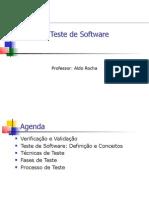 Ipiranga - Qualidade de Software - Teste de Software - Aula 06 - Parte 1