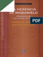 Aramayo y Villacanas. La Herencia de Maquiavelo
