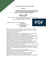 Lege Nr. 306 Din 28 Iunie 2004 Privind Exercitarea Profesiei