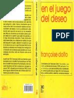En El Juego Del Deseo [Françoise Dolto]