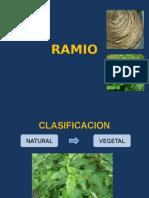 Fibras Ramio y Viscosa