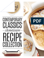 Pampered Chef Contempory Stoneware Classic Recipes