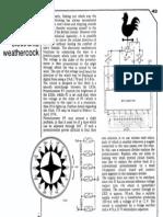 CIrcuito Veleta electrónica - Electronic Weathercock