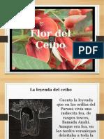 LEYENDA La flor del ceibo