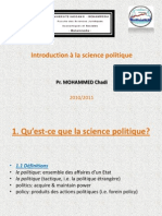 Initiation Science Politique Chadi