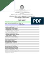 Listas Adultos Sabados Maana 2014-I