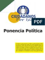 Ponencia política de Ciudadanos por Isla