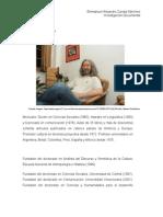 Jesús Galindo Cáceres | Monografía |