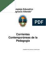 Antología Corrientes Contemporaneas de La Pedagogía