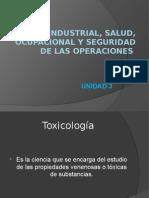 Higiene Industrial, Salud, Ocupacional y Seguridad
