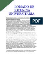 Diplomado de Docencia Universitaria