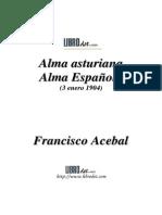 Alma Asturiana, Alma Espanola