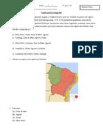Avaliação sobre a região Nordeste.doc