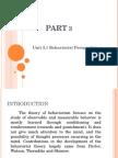 2- Pavlov, Thorndike & Skinner