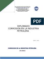 Diplomado corrosion en La Industria Petrolera