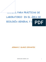 Manual Para Guia de Biologia