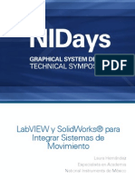 Solidwork Integrado con Labview