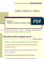 Electrophillic Addition to Alkenes