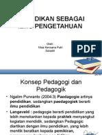 Persentasi Pedagogik.ppt
