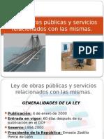 Ley de Obras Públicas y Servicios Relacionados Con Las Mismas (1)