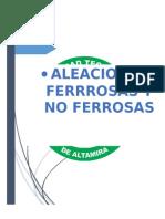 1.3 Extenso Aleacionealeaciones ferrosas Ferrosas y No Ferrosas