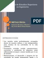 Metalurgia (Introducción)