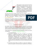 Bienvenida, Reglamento y CM PTMX