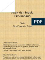 Rizal Sasmita Putra, 12.03.4097.Anak Dan Induk Perusahaan