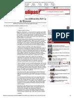 03-24-2015 'Invertirán 200 Mdp en Edificación Del C4 de Reynosa'