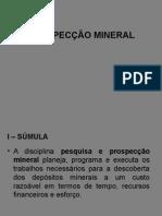 Prospecção Mineral
